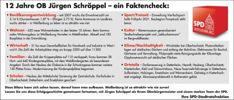 12 Jahre OB Jürgen Schröppel – ein Faktencheck:
