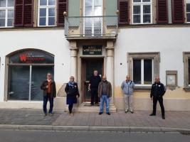 SPD Fraktion besucht Baustelle Wittelsbacher