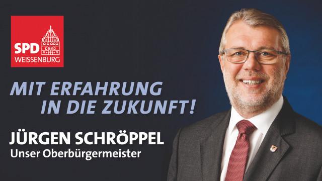 Oberbürgermeister Jürgen Schröppel